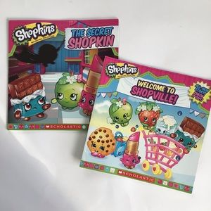 $5 bundle item☀️ 2 SHOPKINS books